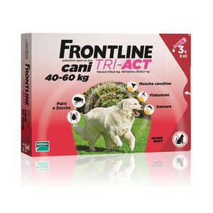 Frontline Combo - Tri Act - Cani 40-60 kg