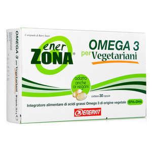 Enerzona - Integratore alimentare - Omega 3 per Vegetariani e Vegani