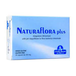 L'erba Buona - Naturaflora 30 capsule Plus - Integratore Alimentare