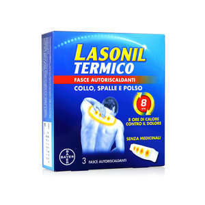 Lasonil - Termico - Fasce Autoriscaldanti - Collo, Spalle e Polso