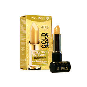 Incarose - Stick labbra idratante - Extra Pure Hyaluronic - Gold Diamond