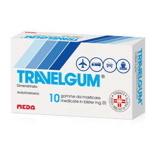 Travelgum - TRAVELGUM*10GOMME MAST 20MG