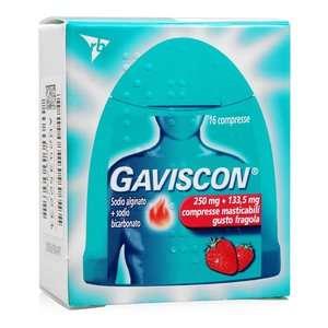 Gaviscon - Compresse Masticabili - Gusto Fragola