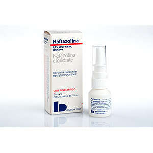 Naftazolina - NAFTAZOLINA*SPRAY NAS 10ML0,2%
