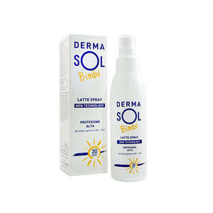 Dermasol - Bimbi - Latte Protezione Solare Spray SPF 30
