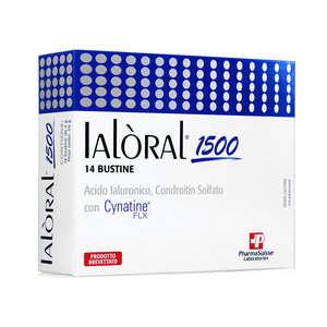 Ialoral - Integratore alimentare di Acido Ialuronico - 1500 Buste