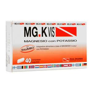 Mg-k Vis - Compresse Deglutibili - Integratore Aliemtnare