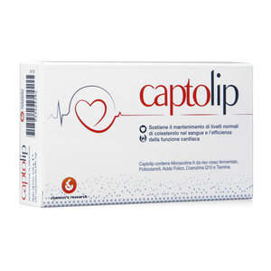 Captolip - Mantenimento normale di colesterolo nel sangue - Compresse