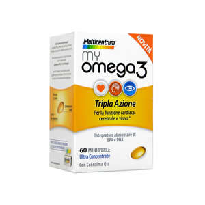 Multicentrum - my Omega 3 - Integratore Alimentare