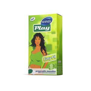 Akuel - Play by Manix - Preservativi 6 pezzi