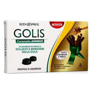 Body Spring - Golis - Caramelle Gommose Miele e Liquirizia