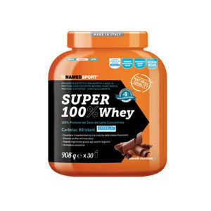 Named Sport - Integratore Alimentare proteine - Super 100% Whey - Smooth Chocolate