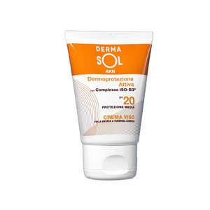Dermasol - Crema Viso - SPF20 - Pelle Grassa o Acneica