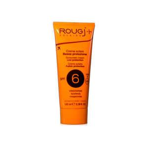 Rougj - Crema Solare - Bassa protezione - SPF6