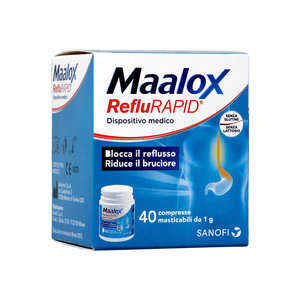 Maalox - RefluRAPID - Compresse