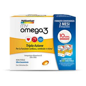 Multicentrum - my Omega 3 - Duopack - Integratore Alimentare