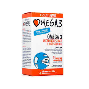 Pharmentis - Essentialvit - Omega 3 Orosolubili