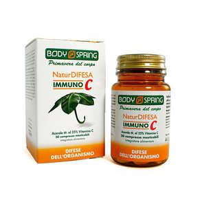 Body Spring - Integratore Alimentare con vitamica c - NaturDifesa - Immuno C