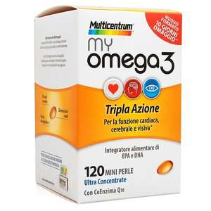 Multicentrum - My Omega3 - 120 Mini Perle