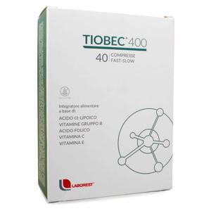 Tiobec - 400 - Fast Slow - Integratore di acido Lipoico