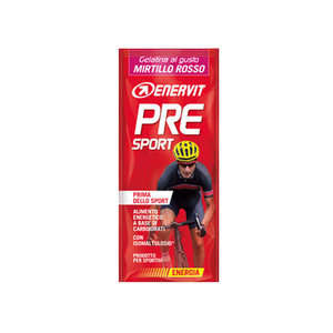 Enervit - Pre Sport - Gelatina Mirtillo Rosso