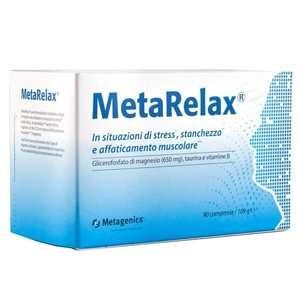 Metagetics - Metarelax - 90 compresse