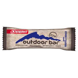 Enervit - Outdoor Bar - Raw - Frutti di bosco - Barretta Energetica