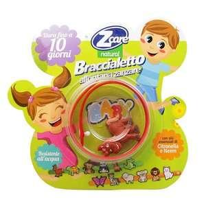 Zcare - Natural - Braccialetto allontana zanzare