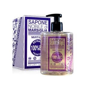 Sapone Nobile Di Marsiglia - Sapone liquido vegetale Mirtillo
