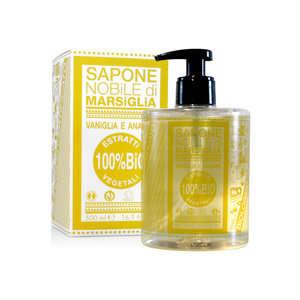 Sapone Nobile Di Marsiglia - Sapone liquido vegetale - Vaniglia e Ananas