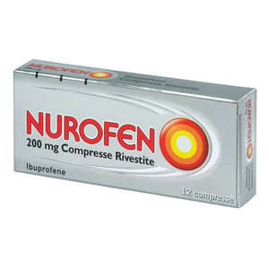 Nurofen - NUROFEN*12CPR RIV 200MG