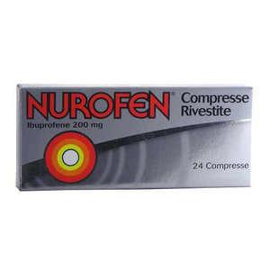 Nurofen - NUROFEN*24CPR RIV 200MG