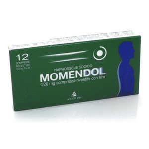 Momendol - MOMENDOL*12CPR RIV 220MG