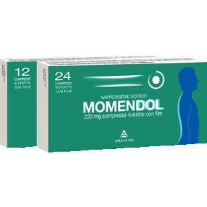 Momendol - MOMENDOL*24CPR RIV 220MG