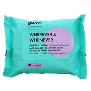 Goovi - Wherever & Whenever - Salviettine multiuso