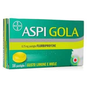 Aspirina - Aspi Gola - 16 pastiglie