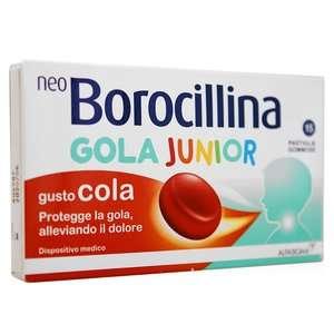 Borocillina - Gola Junior - Caramelle gusto Cola