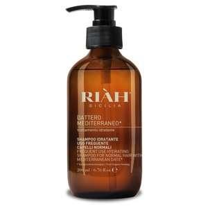 Riàh Sicilia - Dattero Mediterraneo - Shampoo Idratante per Capelli Normali