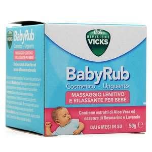 Vicks - BabyRub