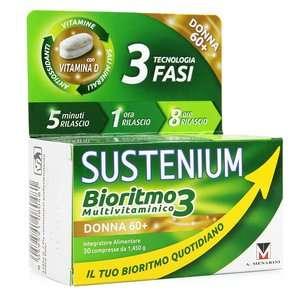Sustenium - Bioritmo3 - Multivitaminico - Donna 60+