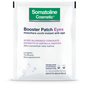 Somatoline - Booster Patch Eyes - Maschera occhi instant anti-age