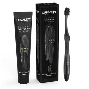 Curasept - Luxury whitening toothpaste - Black Lux