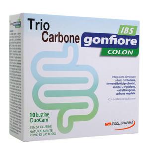 Trio Carbone - IBS - Gonfiore Colon