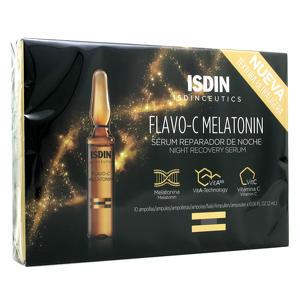 Isdin - Flavo-C Melatonin - Siero Riparatore Notte