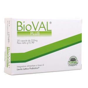 Bioval - Plus - Integratore di Lievito Lattico Probiotico