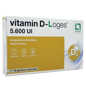 Dr. Loges - Vitamina D - 5600 UI