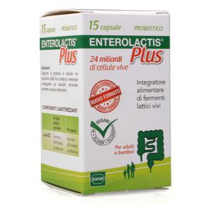 Enterolactis - Plus - 15 Capsule