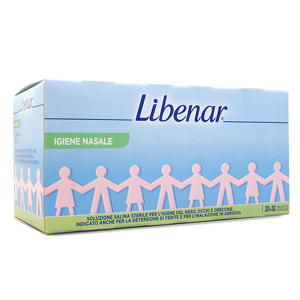 Libenar - Flaconcini di soluzione salina sterile - OFFERTA 30+30
