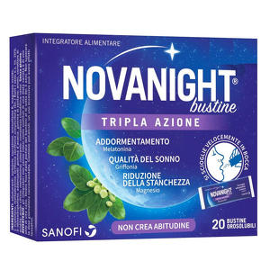 Sanofi - Novanight - Bustine Orosolubili Tripla Azione