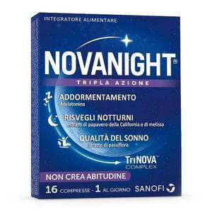 Sanofi - Novanight - 16 Compresse Tripla Azione